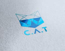 Nro 81 kilpailuun Design A Geometric Cat Face as part of a logo käyttäjältä Nawab266