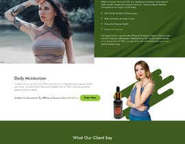 #14 for Responsive Landing Page Design for CBD Liquid Arouse by saidesigner87