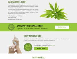#34 for Responsive Landing Page Design for CBD Liquid Arouse by shakilaiub10