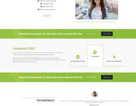 #47 for Responsive Landing Page Design for CBD Liquid Arouse by Nibraz098