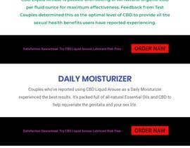 #40 for Responsive Landing Page Design for CBD Liquid Arouse by junaetfaruk790