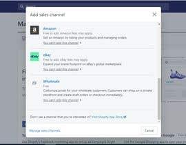 Nro 14 kilpailuun DESIGN ME A WEBSITE TO IMPORT AMAZON PRODUCTS + inventory synchronize käyttäjältä debbiehireme