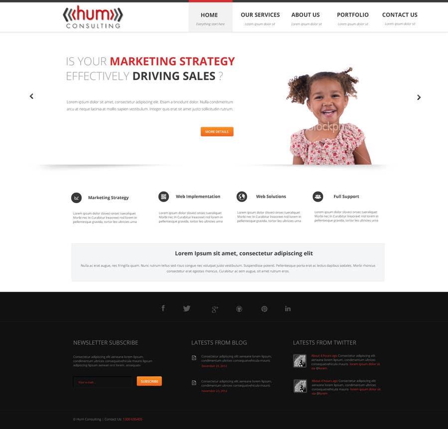 #33 for Website Redesign for Digital Marketing Company by webgik