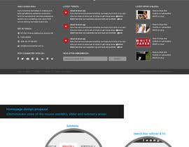 nº 34 pour Website Redesign for Digital Marketing Company par amandachien