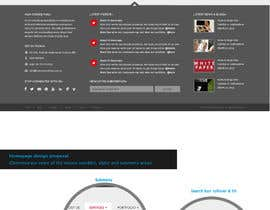 nº 42 pour Website Redesign for Digital Marketing Company par amandachien