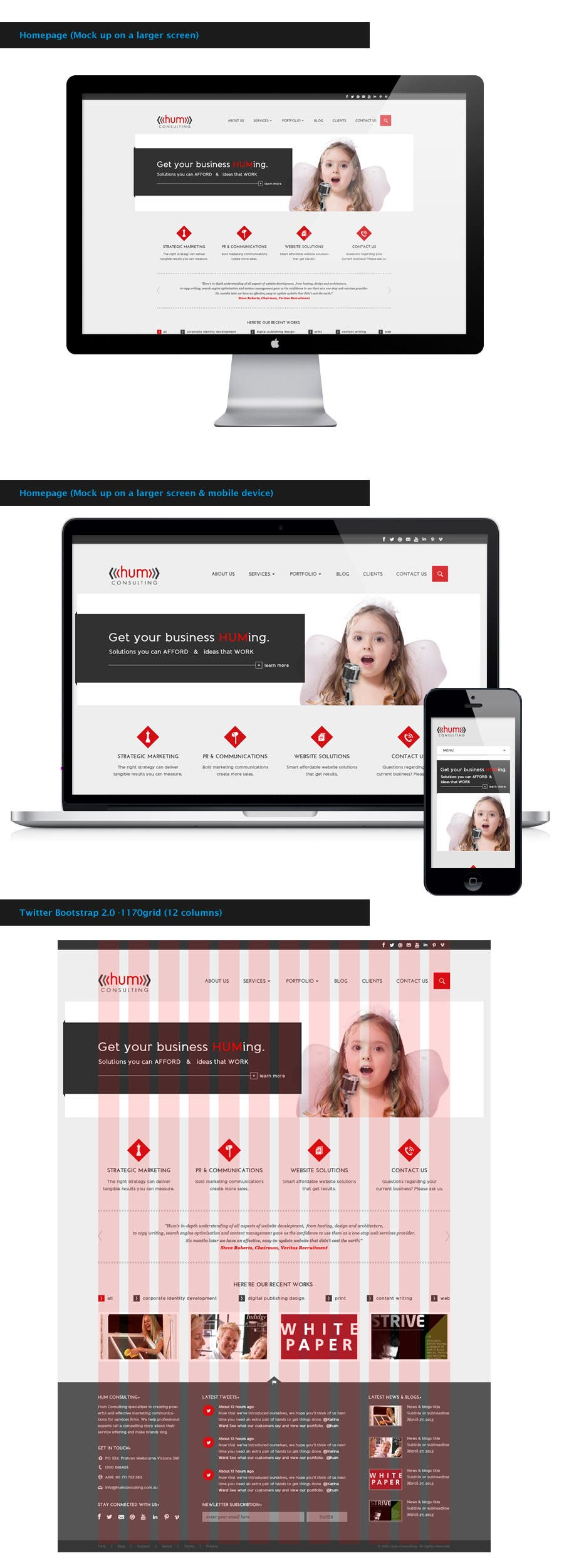 #44 for Website Redesign for Digital Marketing Company by amandachien