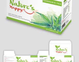 ssandaruwan84 tarafından Nature's Happy Cannabis Tea - Box design için no 30