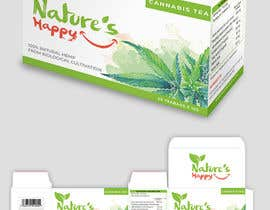 ssandaruwan84 tarafından Nature's Happy Cannabis Tea - Box design için no 50