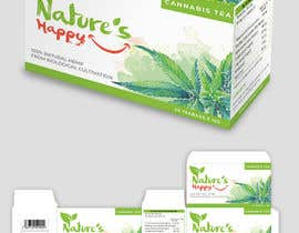 ssandaruwan84 tarafından Nature's Happy Cannabis Tea - Box design için no 54