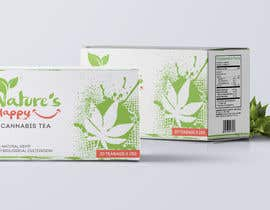 leiidiipabon24 tarafından Nature's Happy Cannabis Tea - Box design için no 46