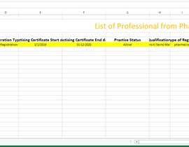 Nro 4 kilpailuun List of Professional from Pharma Council käyttäjältä mehedihassan4467