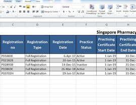 Nro 9 kilpailuun List of Professional from Pharma Council käyttäjältä staggerlife