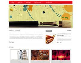 #13 para Website Design and programming for Painter Company por patil1987