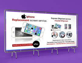 #41 for Ecover and banner for iPhone Replacement screen service af akmalmahmud637