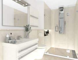 Nro 19 kilpailuun Luxury bathroom design - 1 käyttäjältä SaeidDavoodi