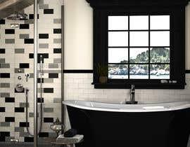 Nro 15 kilpailuun Luxury bathroom design - 1 käyttäjältä Shaon343