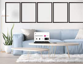 PolashBormon tarafından Mockup for 5 posters in a room with a modern interior design için no 11