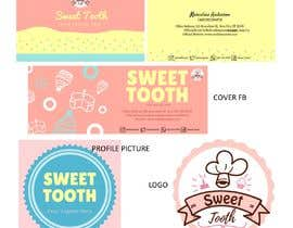 #69 untuk Cake business Logo, Card, and Facebook profile and cover page designs oleh bielakhairani