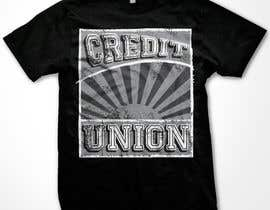 #10 para T-shirt Design for Credit Union por WendyRV