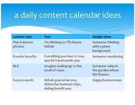 #5 for Create a daily content calendar for a Year for Facebook for Airbnb hosts to target leisure and business travelers by AbdullahMarketer