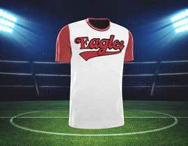 #75 untuk Need a baseball script font created for a t-shirt oleh FARUKTRB