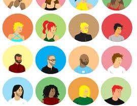#4 для Diverse People Avatar Set - for a dating app от segolsn