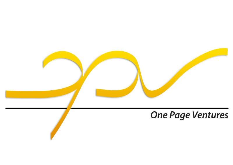 Inscrição nº                                         19                                      do Concurso para                                         Logo Design for OnePageVentures - start up company