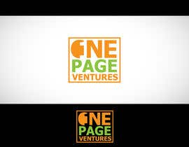 #78 para Logo Design for OnePageVentures - start up company por logoustaad
