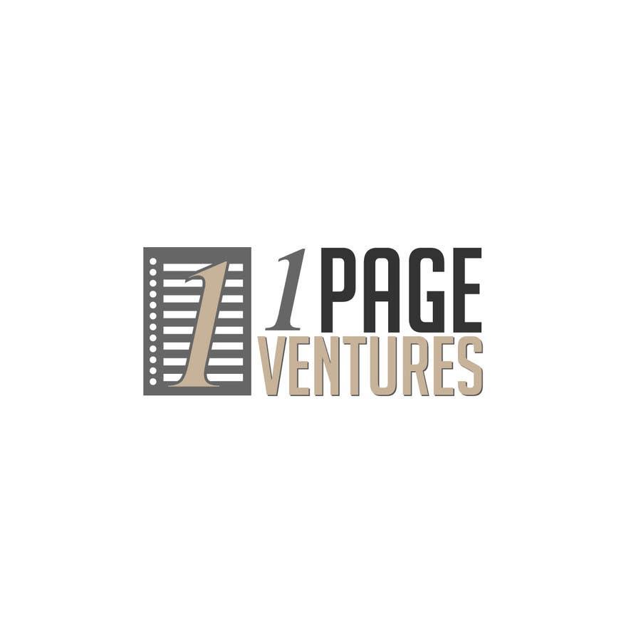 Inscrição nº                                         9                                      do Concurso para                                         Logo Design for OnePageVentures - start up company