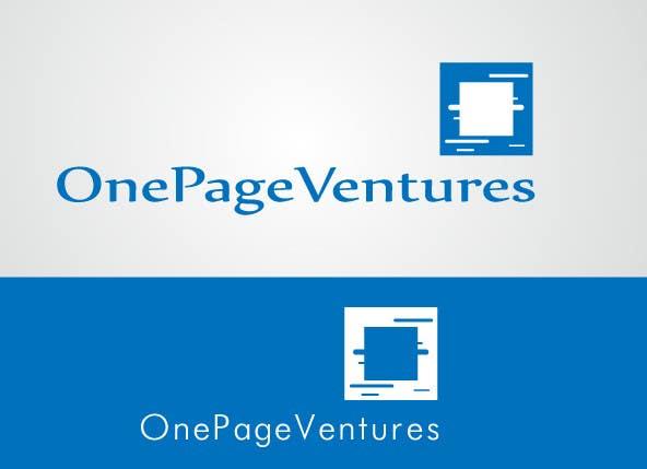 Inscrição nº                                         108                                      do Concurso para                                         Logo Design for OnePageVentures - start up company