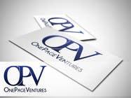 Graphic Design Inscrição do Concurso Nº142 para Logo Design for OnePageVentures - start up company