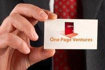 Graphic Design Inscrição do Concurso Nº153 para Logo Design for OnePageVentures - start up company