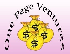 Inscrição nº                                         5                                      do Concurso para                                         Logo Design for OnePageVentures - start up company