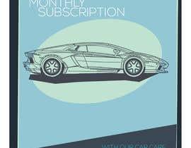 Nro 14 kilpailuun Create attractive poster for car wash monthly subscription käyttäjältä Ajdiodadoz
