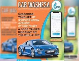 Nro 21 kilpailuun Create attractive poster for car wash monthly subscription käyttäjältä tanbir220