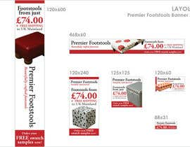 #7 dla Affiliate Banners Design for Premier Footstools Affiliate Scheme przez meichuen