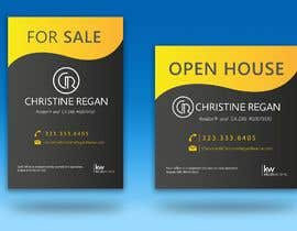 #35 for Design Open House Signs and For Sale Sign by WaterDlaw