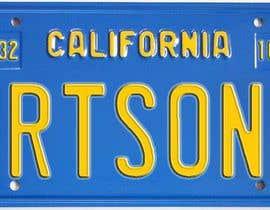 #2 pentru Digital Image of a License Plate de către JuliaB89