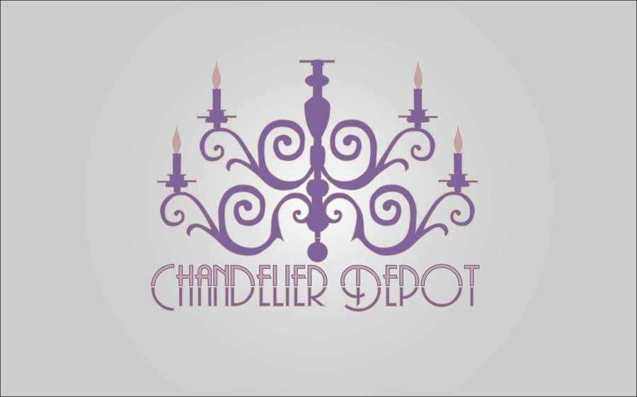 Bài tham dự cuộc thi #                                        44                                      cho                                         Logo Design for Chandeliers Site