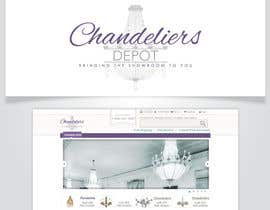 #12 para Logo Design for Chandeliers Site por AlignmentGS