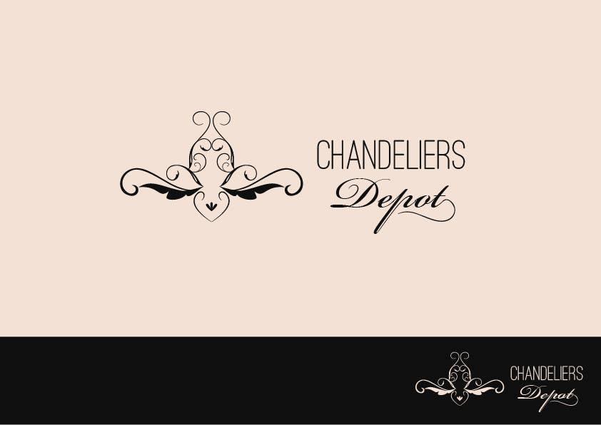 Bài tham dự cuộc thi #                                        40                                      cho                                         Logo Design for Chandeliers Site