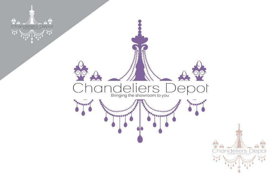 Bài tham dự cuộc thi #                                        41                                      cho                                         Logo Design for Chandeliers Site