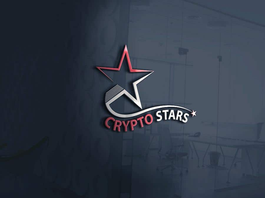 """Proposition n°309 du concours DESIGN me Logo for """"Crypto Stars"""""""