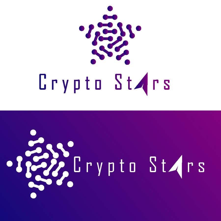 "Proposition n°279 du concours DESIGN me Logo for ""Crypto Stars"""