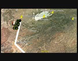 Nro 5 kilpailuun Create an Indiana Jones interactive map as intro for a home video (30 to 40 sec). käyttäjältä kamangakim