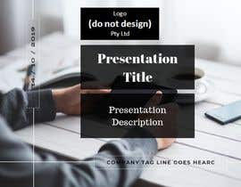 #64 for Slide Template Design - For Professional Powerpoint Presentation by NADAFATI