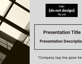 #66 for Slide Template Design - For Professional Powerpoint Presentation by NADAFATI