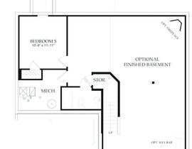 Nro 1 kilpailuun Basement Design with Simple Staircase - Great Project! käyttäjältä jonugos