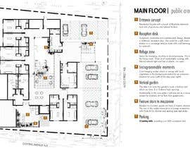 #46 для Create a small hotel floorplan that feels like a mansion and not a typical hotel от mariaharagao