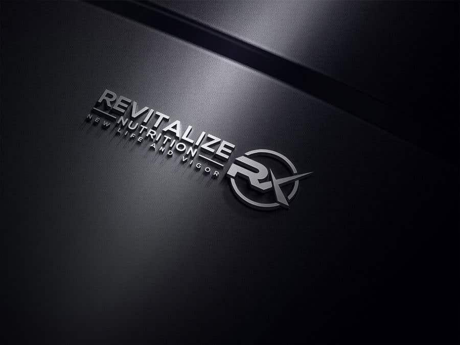 Penyertaan Peraduan #289 untuk Revitalize Nutrition Rx logo design